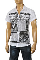 JOHN GALLIANO Men's Short Sleeve Shirt #29