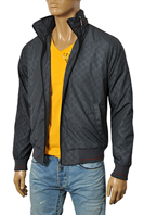 GUCCI Men's Zip Up Jacket With Removable Hoodie #119
