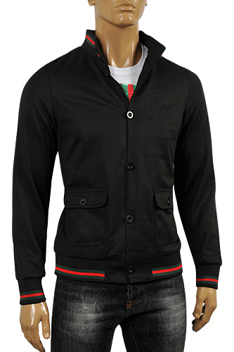 GUCCI Men's Jacket In Black #132