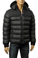 GUCCI Men's Hooded Warm Jacket In Black #139