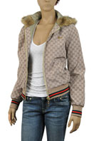 GUCCI Ladies Hooded Jacket #84