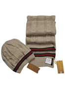 GUCCI Men's Hat/Scarf Set #111