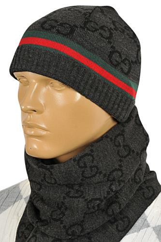 GUCCI Men's Hat/Scarf Set #130