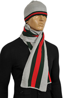 GUCCI Men's Hat/Scarf Set #78