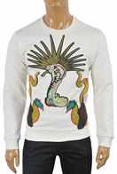 GUCCI Men's Cotton Sweatshirt With Kingsnake Print #358