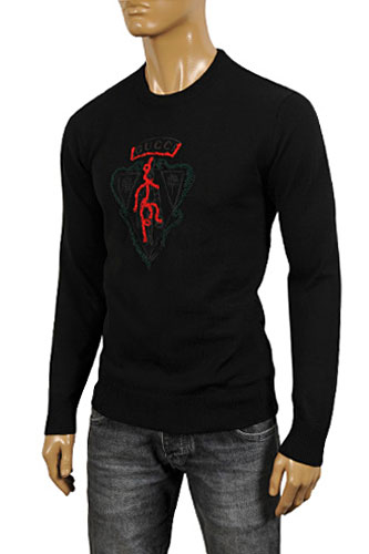 GUCCI Men's Crew Neck Knit Sweater #75