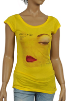 GUCCI Ladies Short Sleeve Top #141