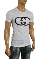 GUCCI Men's Fitted Short Sleeve Tee #132