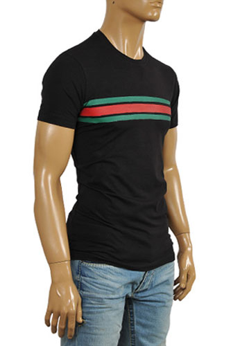 GUCCI Men's Crew-neck Short Sleeve Tee #154