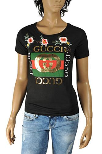 GUCCI Women's Fashion Short Sleeve Top #196