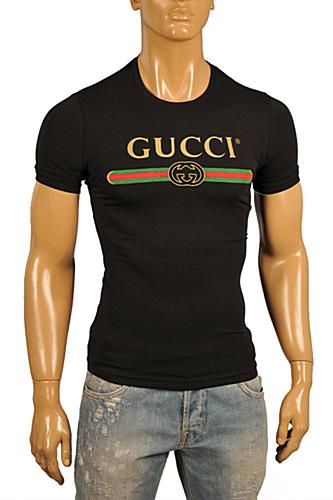 d85e7b250 Mens Designer Clothes | GUCCI Men's T-Shirt In White #207 View 1