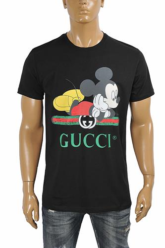 GUCCI men's T-shirt with front vintage logo 281