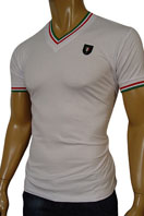 GUCCI Mens V-Neck Short Sleeve Tee #74