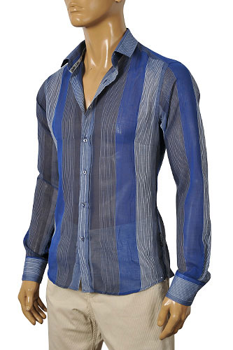 Mens Designer Clothes | ARMANI JEANS Men's Casual Shirt #161