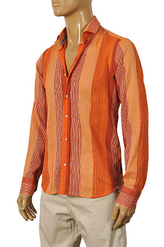 Mens Designer Clothes | ARMANI JEANS Men's Casual Shirt #164