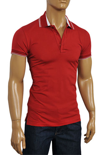 Mens Designer Clothes | ARMANI JEANS Men's Short Sleeve Shirt #204