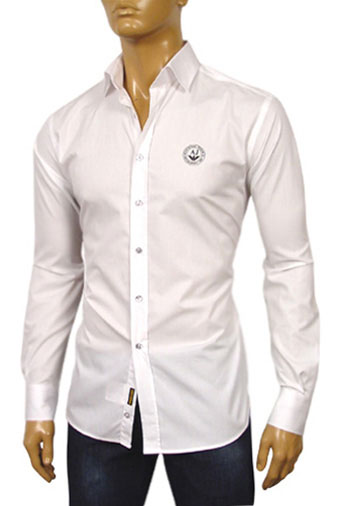 Mens Designer Clothes | ARMANI JEANS Mens Dress Shirt #137