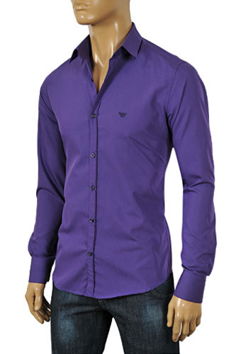 mens designer clothes emporio armani mens dress shirt 182