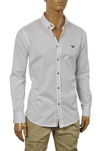 Mens Anchor Print Shirt