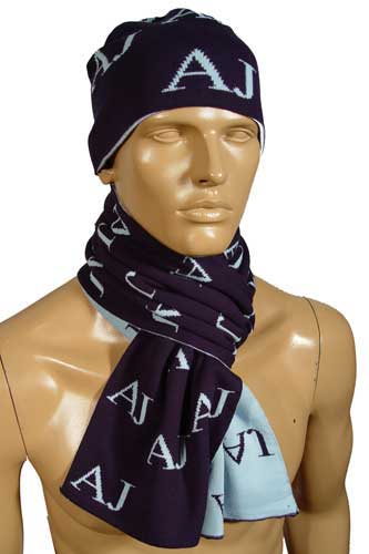 Mens Designer Clothes | EMPORIO ARMANI Hat/Scarf Set #38