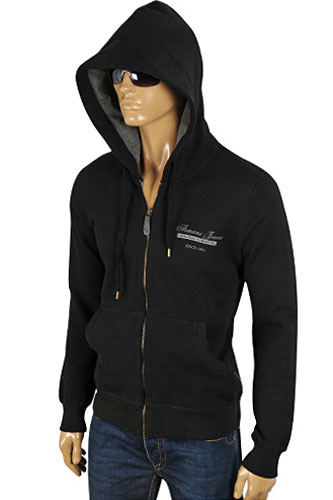 Mens Designer Clothes | ARMANI JEANS Men's Zip Up Hoodie/Jacket #115