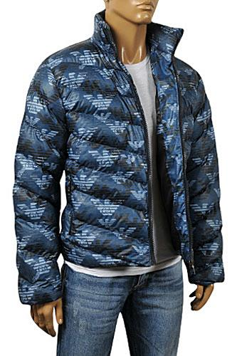 Mens Designer Clothes | ARMANI JEANS Men's Winter Warm Jacket #122