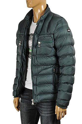 Mens Designer Clothes | ARMANI JEANS Men's Winter Warm Jacket #130