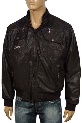 Mens Designer Clothes | EMPORIO ARMANI Warm Zip Jacket #37
