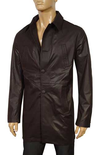Mens Designer Clothes | EMPORIO ARMANI Classic Button Up Jacket #50