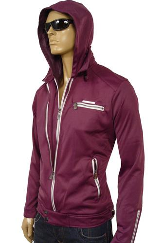 Mens Designer Clothes | EMPORIO ARMANI Men's Sport Hooded Jacket #63