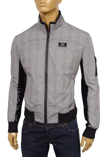 Mens Designer Clothes | EMPORIO ARMANI Zip Up Summer Jacket #65
