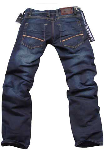 Mens Designer Clothes | EMPORIO ARMANI Men's Blue Denim Jeans #76