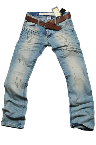 Mens Designer Clothes | EMPORIO ARMANI Menu2019s Jeans With Belt #118