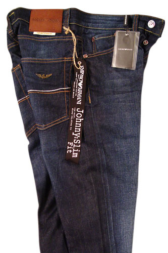 Mens Designer Clothes | EMPORIO ARMANI Mens Washed Jeans #92