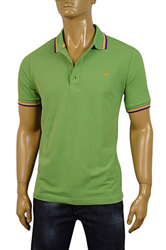 Mens Designer Clothes | ARMANI JEANS Mens Polo Shirt #160