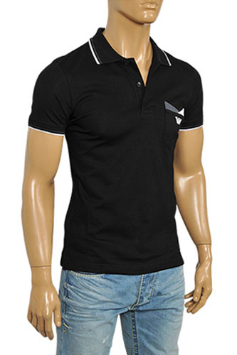 Mens Designer Clothes | EMPORIO ARMANI Men's Polo Shirt #191