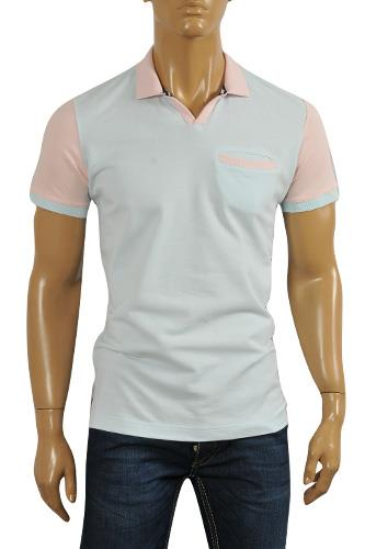 Mens Designer Clothes | ARMANI JEANS Men's Polo Shirt #238