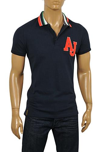 Mens Designer Clothes | ARMANI JEANS Men's Polo Shirt #247