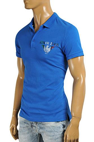 Mens Designer Clothes | ARMANI JEANS Men's Polo Shirt #251