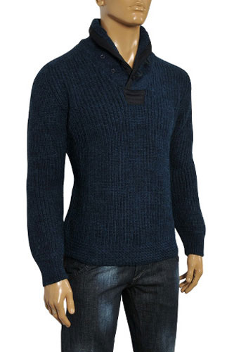 Mens Designer Clothes | EMPORIO ARMANI Men's Warm Sweater #129