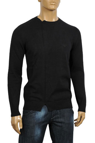 Mens Designer Clothes | ARMANI JEANS Men's Knitted Sweater #137