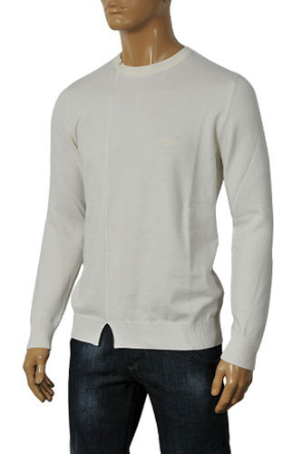 Mens Designer Clothes | ARMANI JEANS Men's Knitted Sweater #138