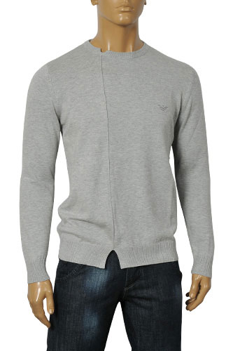 Mens Designer Clothes | ARMANI JEANS Men's Knitted Sweater #139