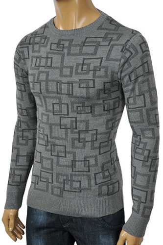 Mens Designer Clothes | ARMANI JEANS Men's Fitted Sweater #141