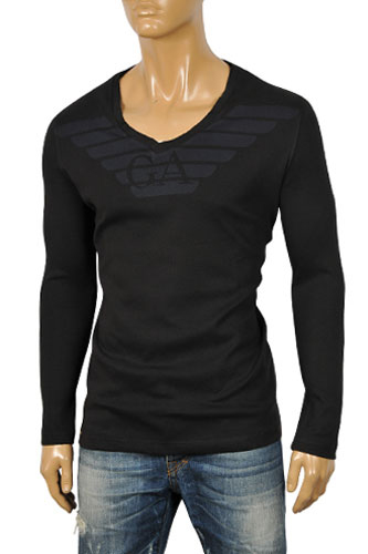 Mens Designer Clothes | EMPORIO ARMANI Men's Sweater #146