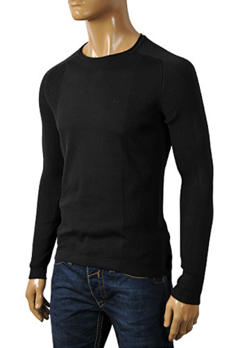 Mens Designer Clothes | ARMANI JEANS Men's Round Neck Sweater #156