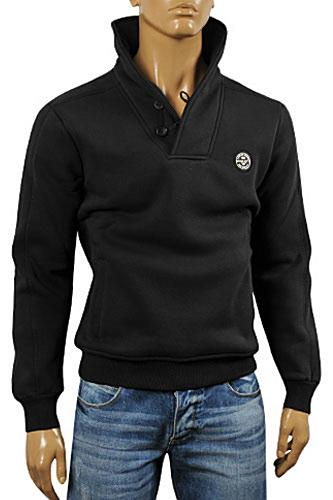 Mens Designer Clothes | ARMANI JEANS Men's Warm Cotton Sweater #166