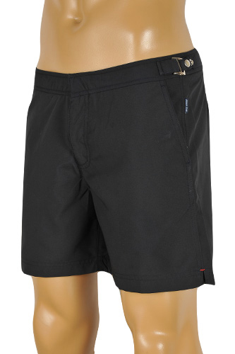 Mens Designer Clothes | ARMANI JEANS Swim Shorts For Men In Navy Blue #124