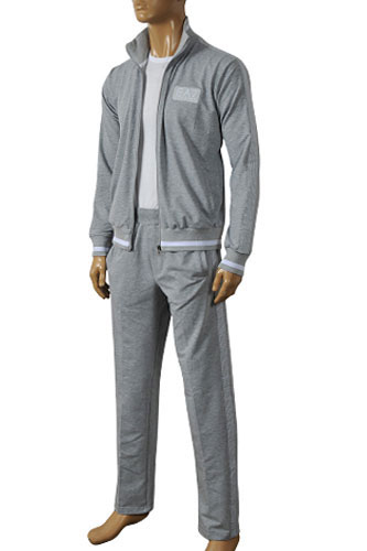 Mens Designer Clothes | EMPORIO ARMANI Men's Zip Up Tracksuit #99