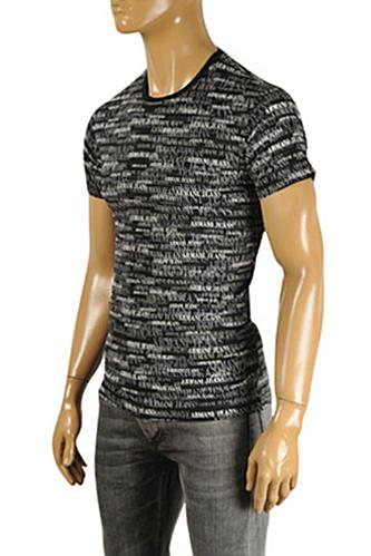 Mens Designer Clothes | ARMANI JEANS Men's T-Shirt #111